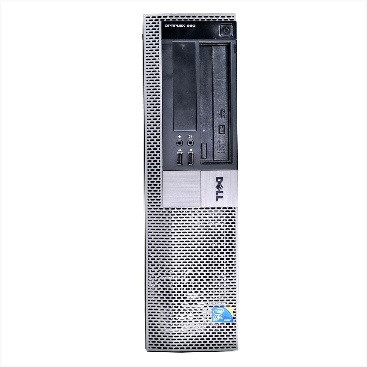 Desktop dell optiplex 960 slim core2duo 4gb 1tb - usado