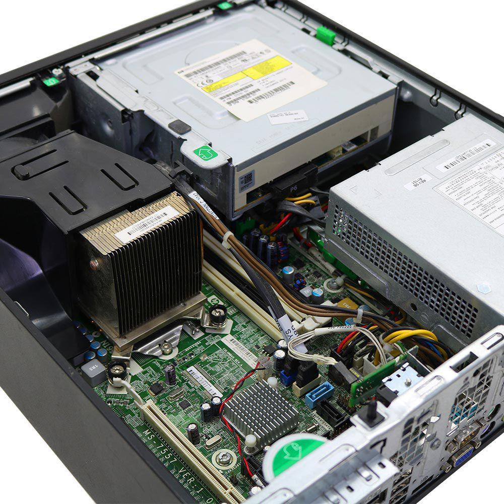 Desktop HP Compaq 8100 Slim I5 4GB 250GB - Usado - Guigon Eletro