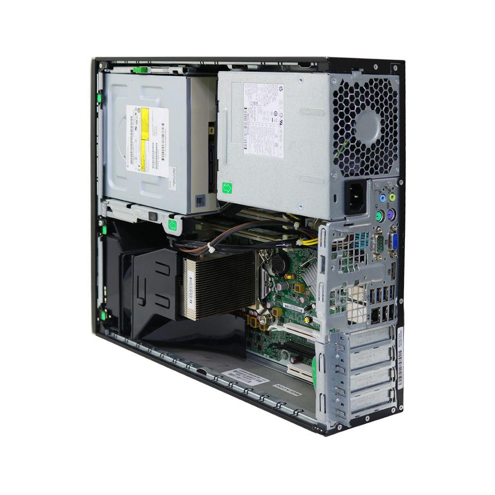 Desktop hp 8300 elite slim i5 4gb 250gb - usado