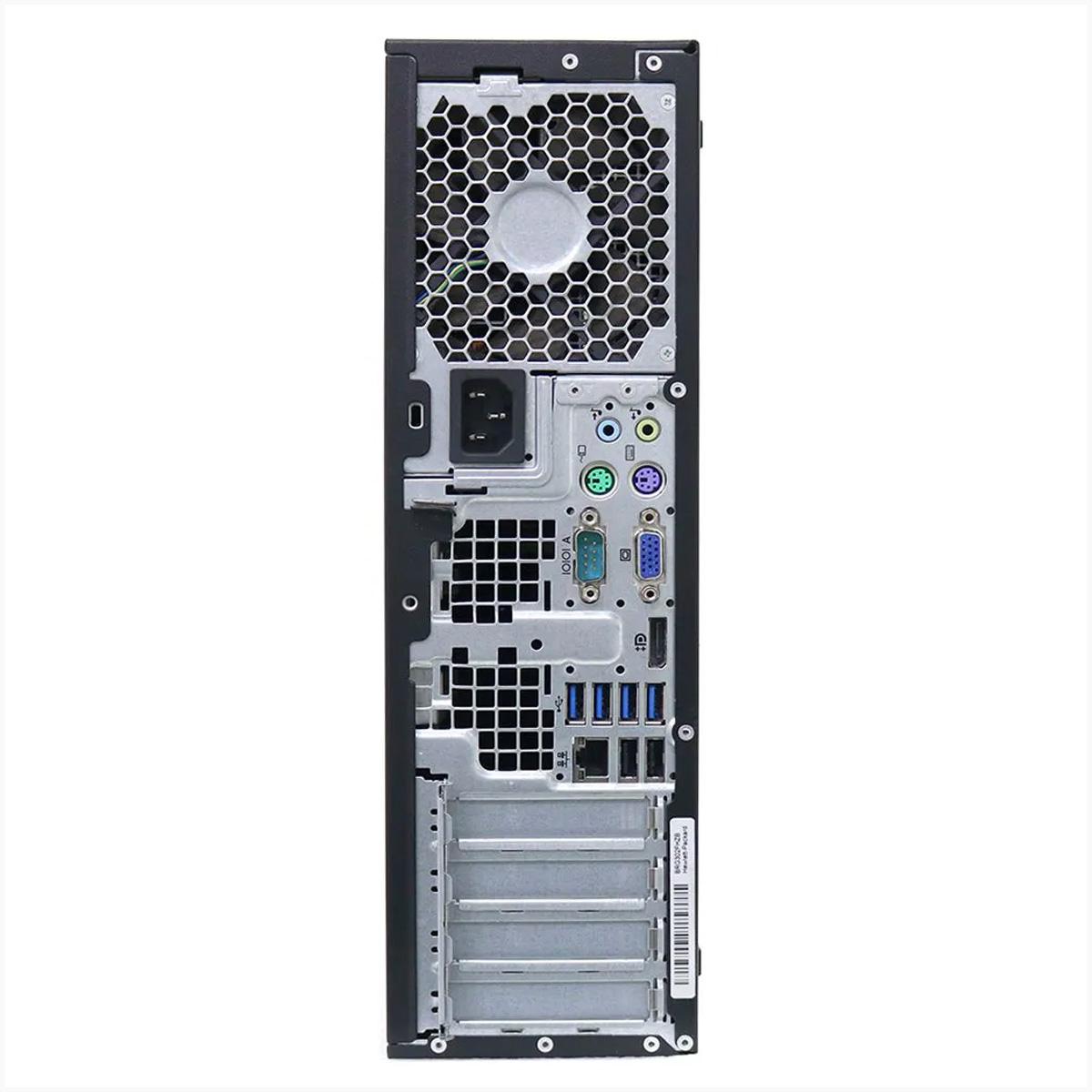 desktop hp 8300 elite slim i5 8gb 500gb - usado