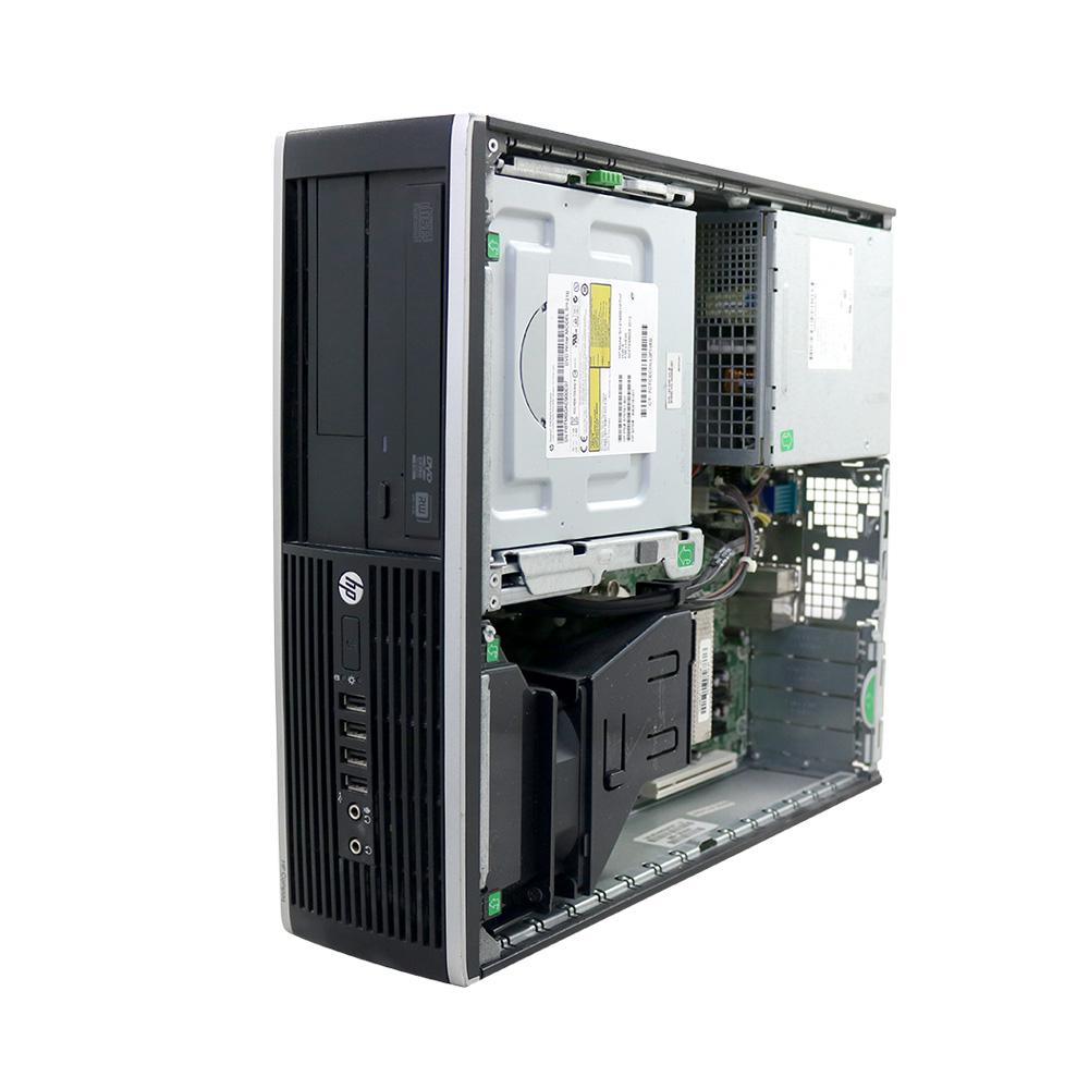 Desktop hp compaq 6300 slim pentium 4gb 250gb - usado