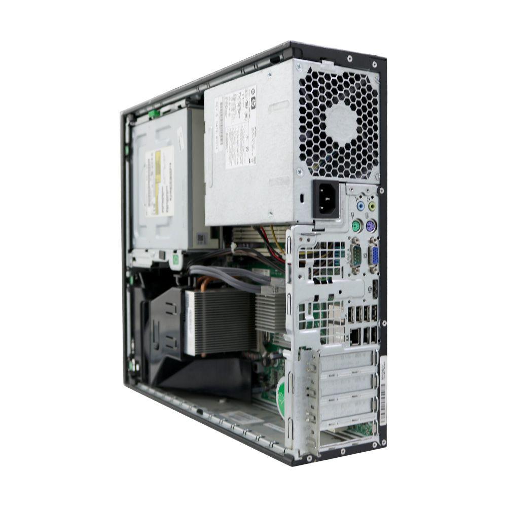 Desktop hp compaq 8000 core2duo 4GB HD 250gb - usado