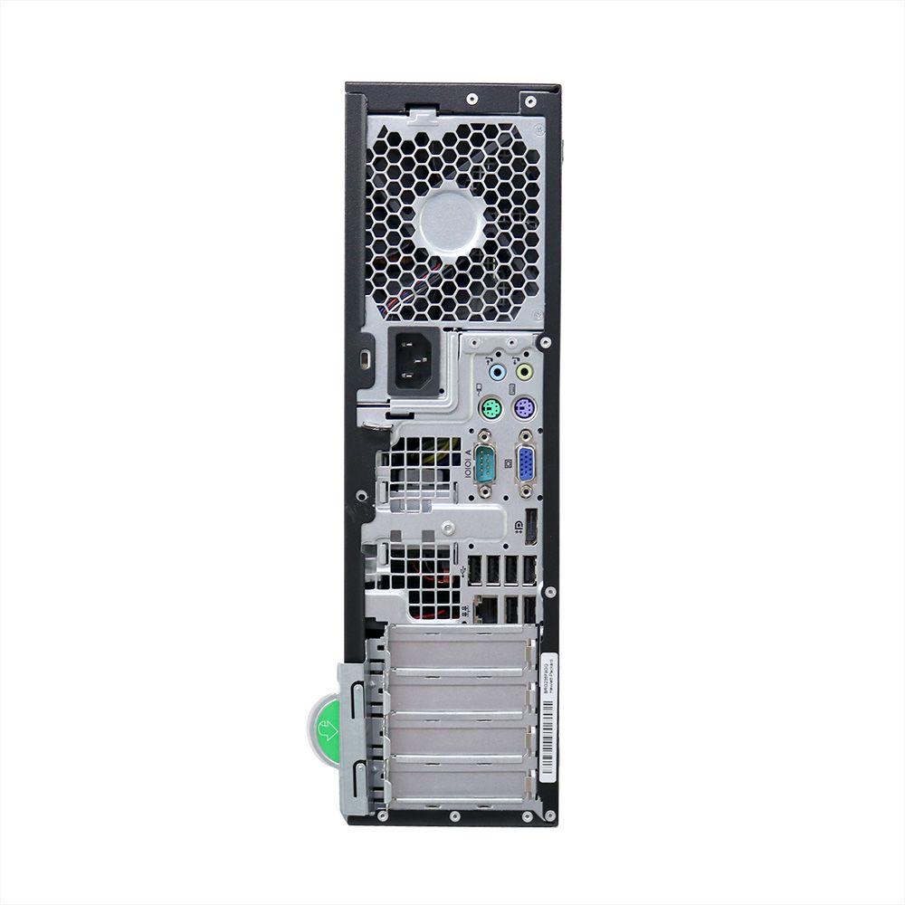 Desktop hp compaq 8200 slim i5 (2400) 4gb 500gb - usado