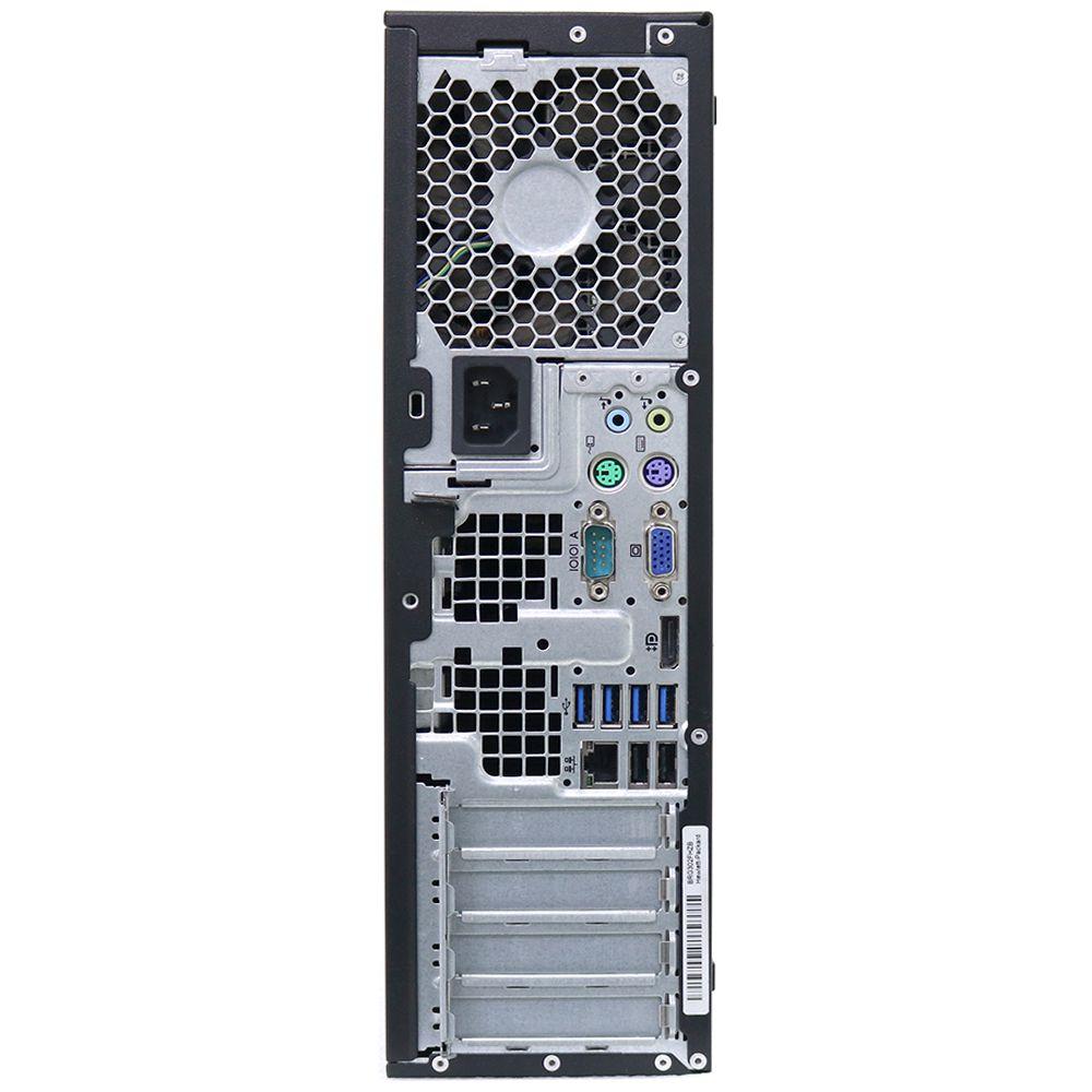 Desktop hp 8300 slim i5 4gb 500gb - usado
