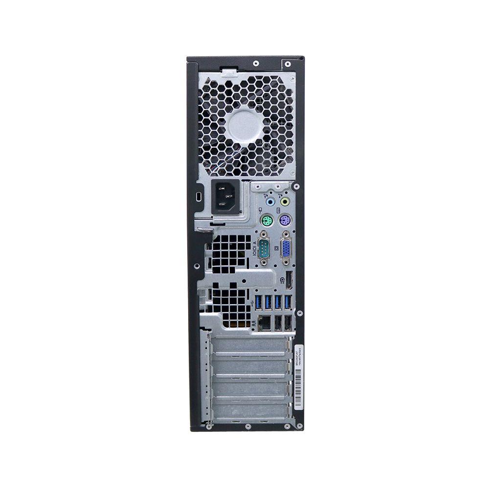Desktop hp elite 6300 i5 4gb 250gb - usado