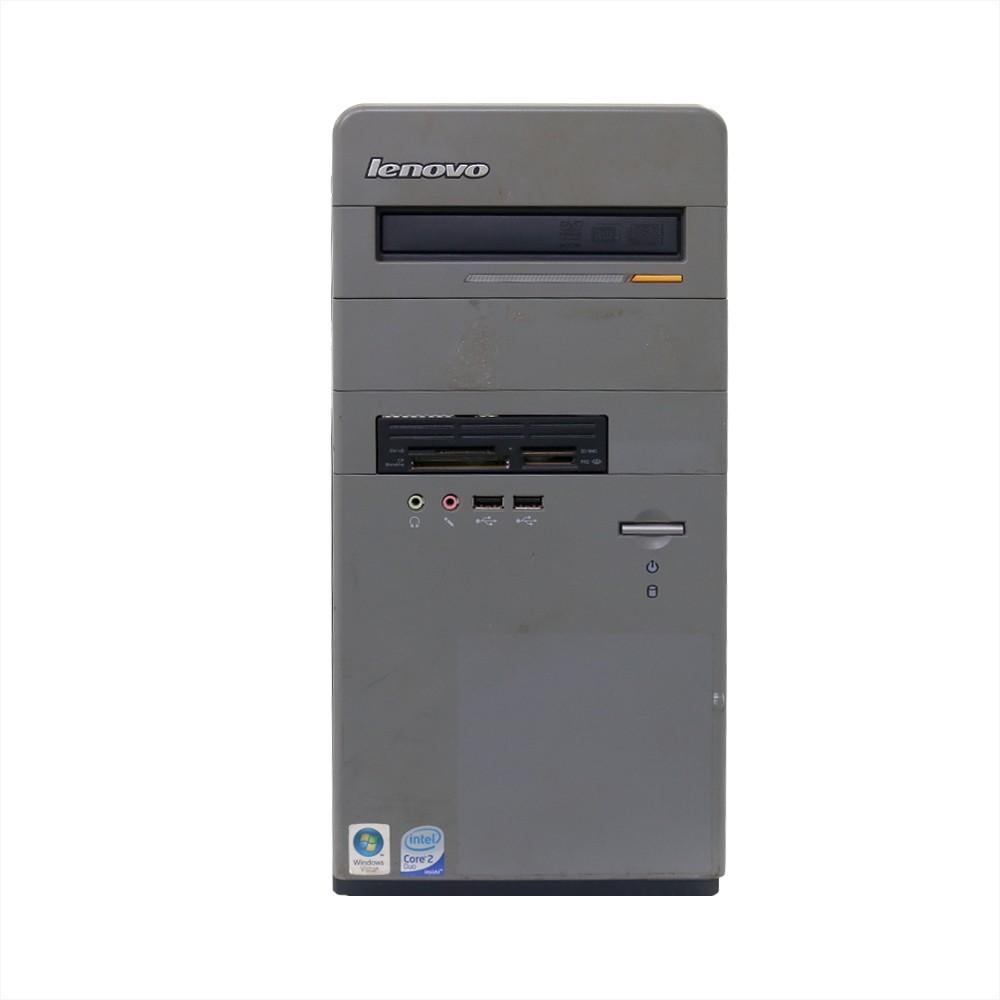 Desktop lenovo e100 minitorre core2duo 4gb 250gb - usado
