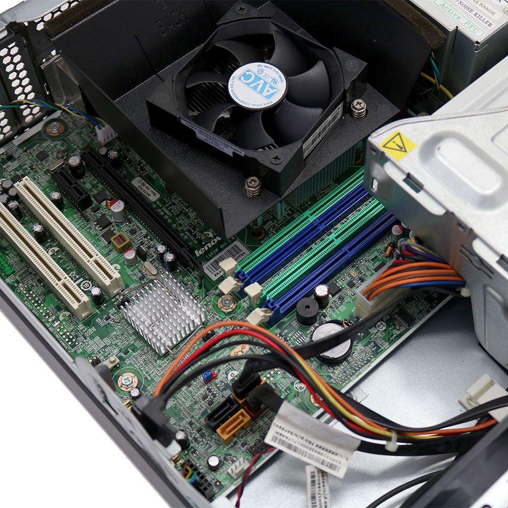 Desktop lenovo thinkcentre m81 i3 2gb 80gb - usado #2302