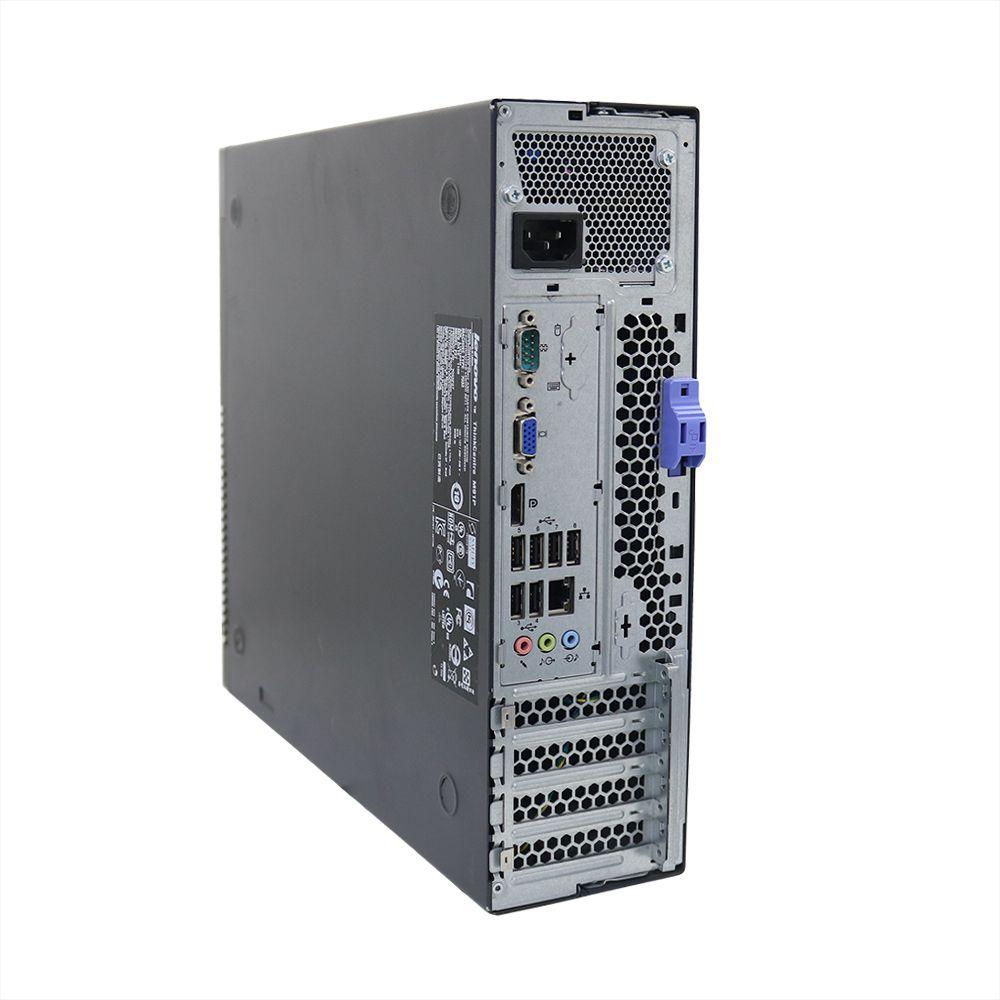 Desktop Lenovo ThinkCentre M91 Slim i5 4gb 250gb- Usado
