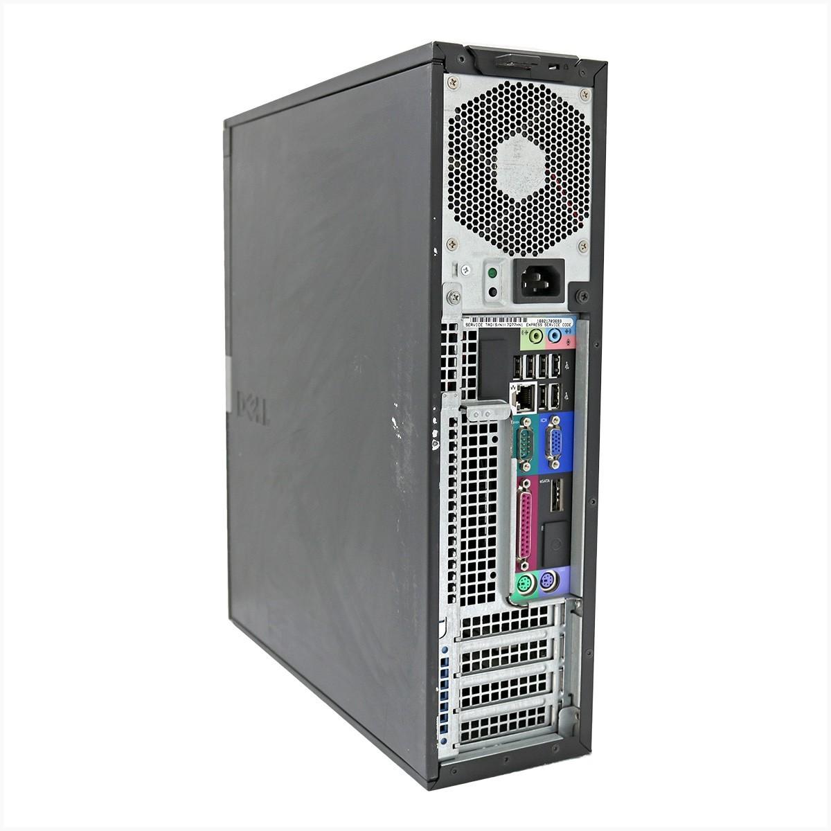 Desktop optiplex 980 slim i5 4gb 250gb - usado