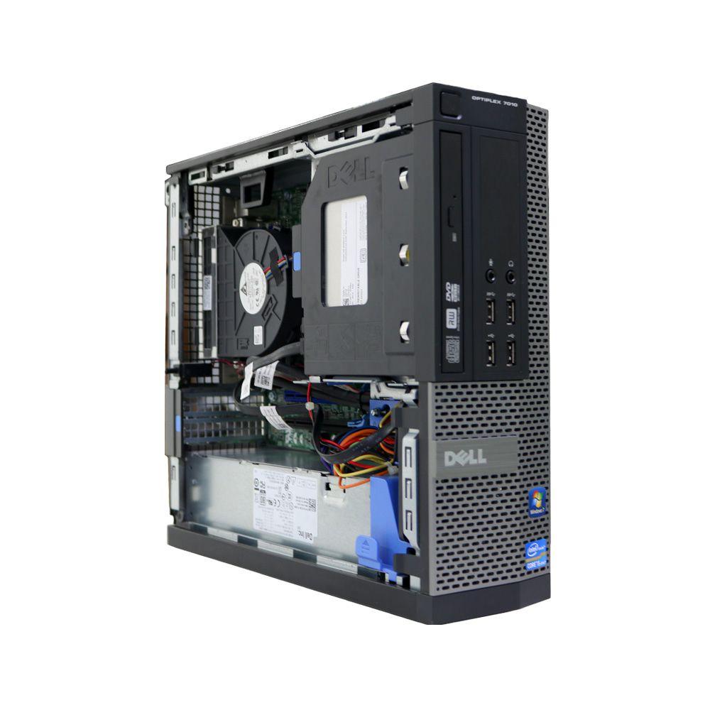 Desktop Dell Optiplex 7010 Mini I5 4GB 250GB - Usado - Guigon Eletro