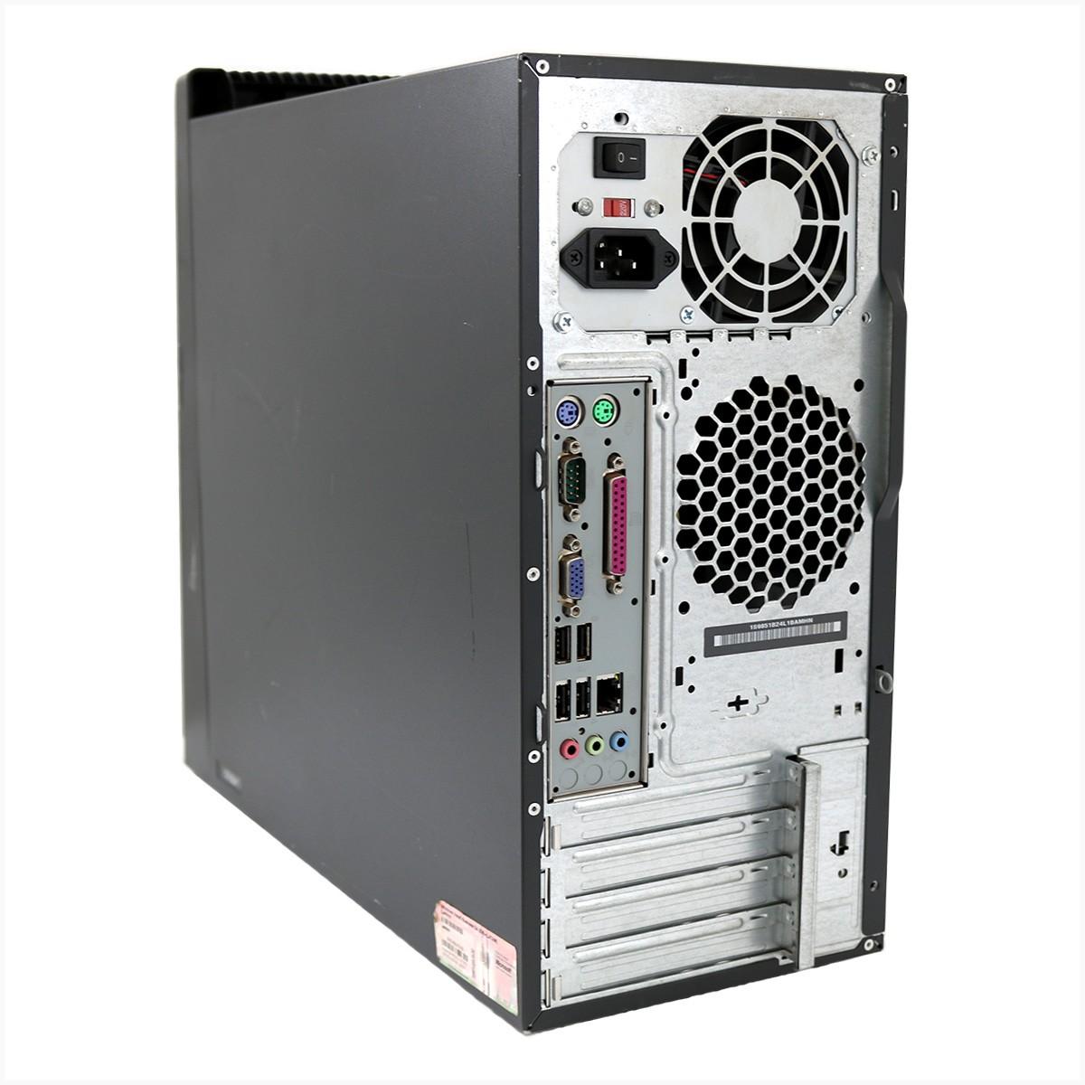 Desktop thinkcentre lenovo a57 slim core2duo 4gb 320gb - usado