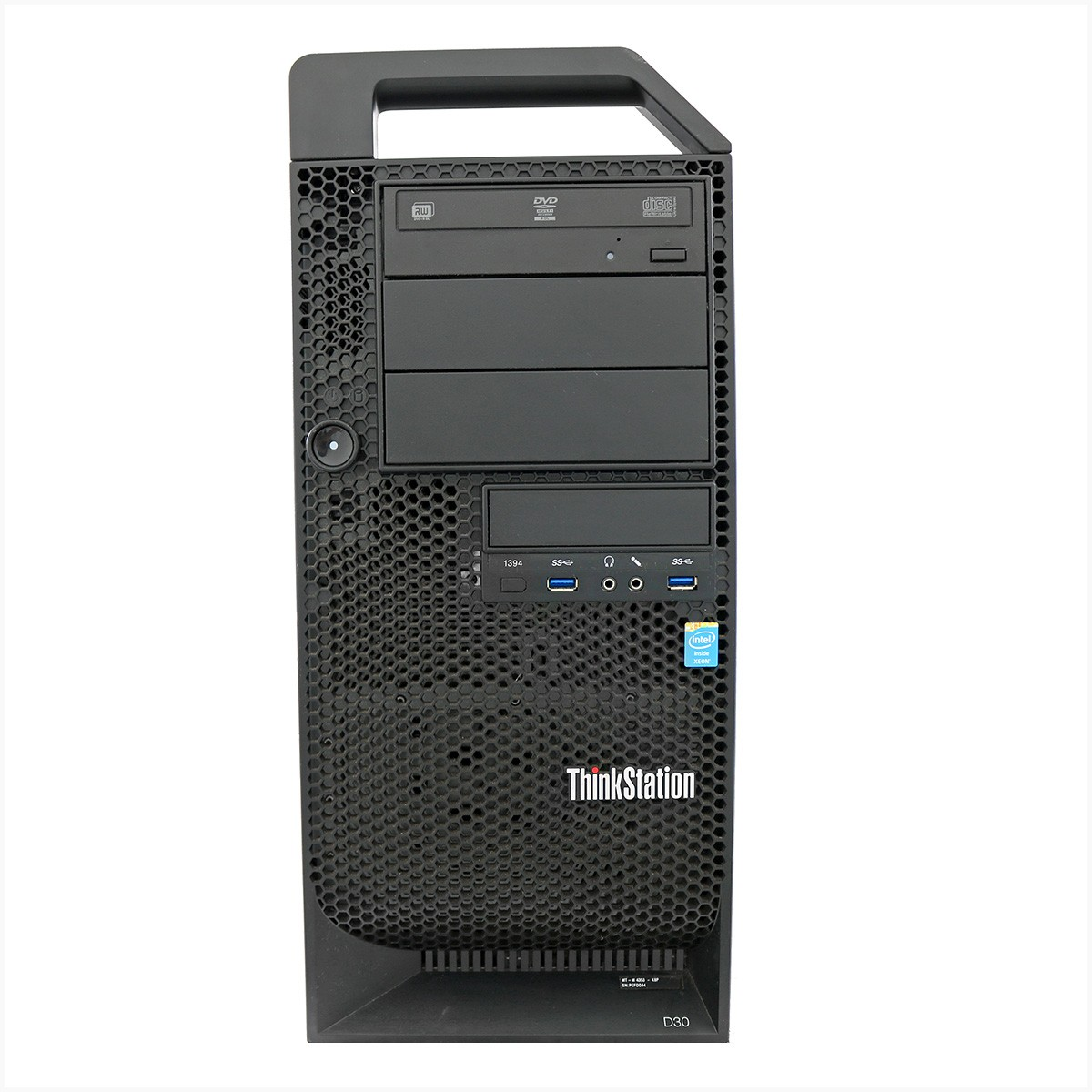 Desktop thinkstation d30 xeon e5 2620 4gb 500gb - usado