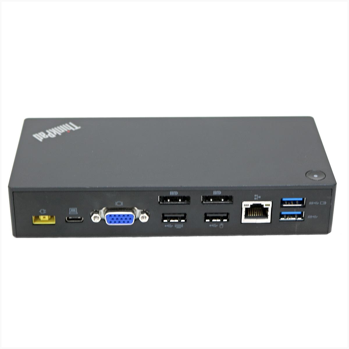 Dockstation lenovo thinkpad usb-c dk1633 - usado