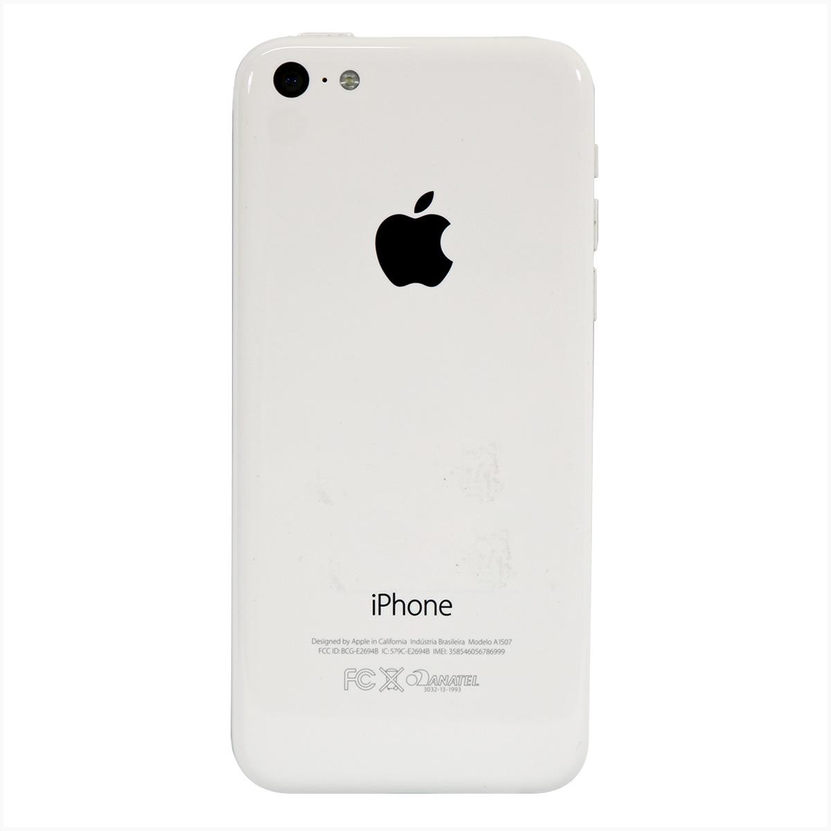 Iphone 5c a1507 16gb branco - usado