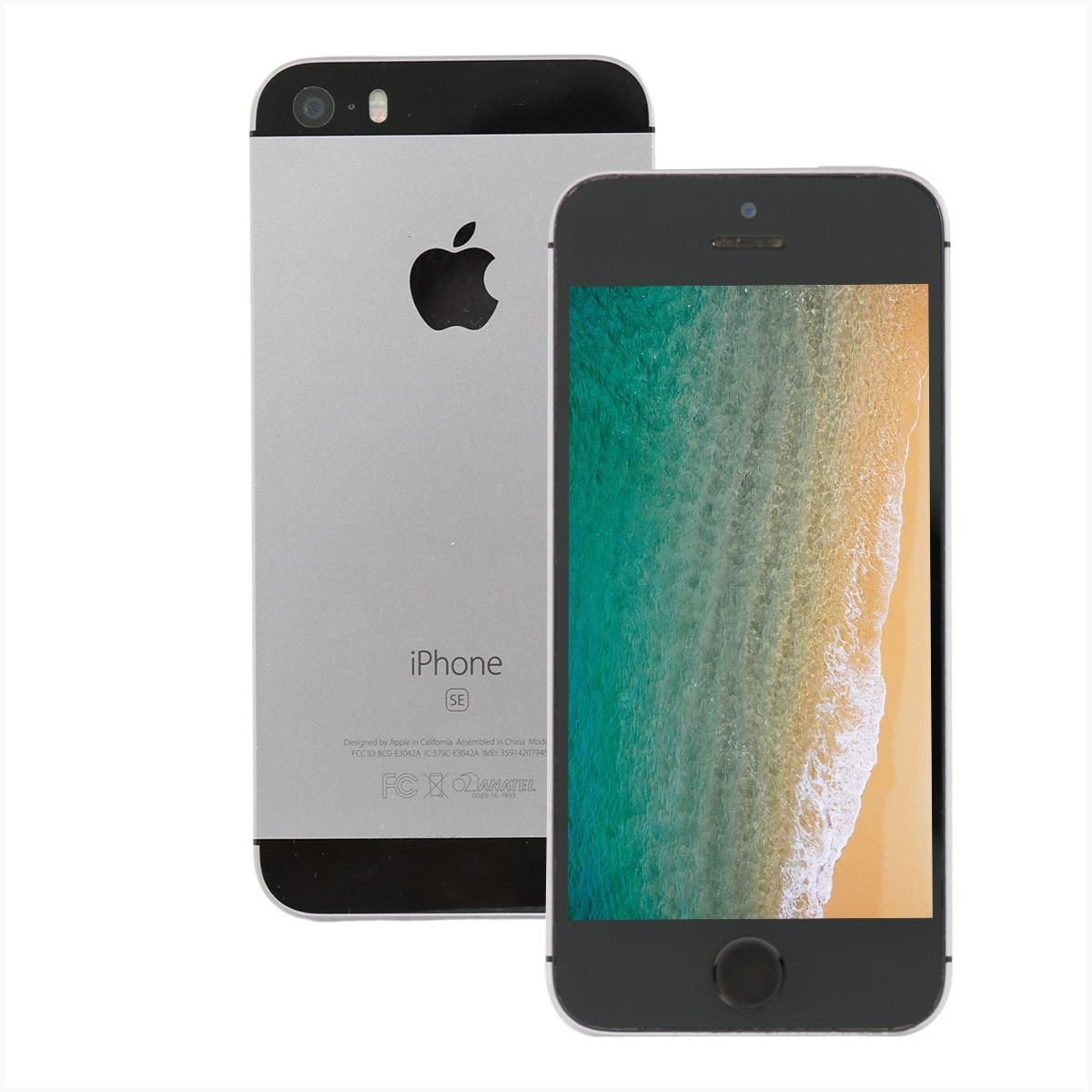 Iphone SE Apple 64gb prata a1723 - usado