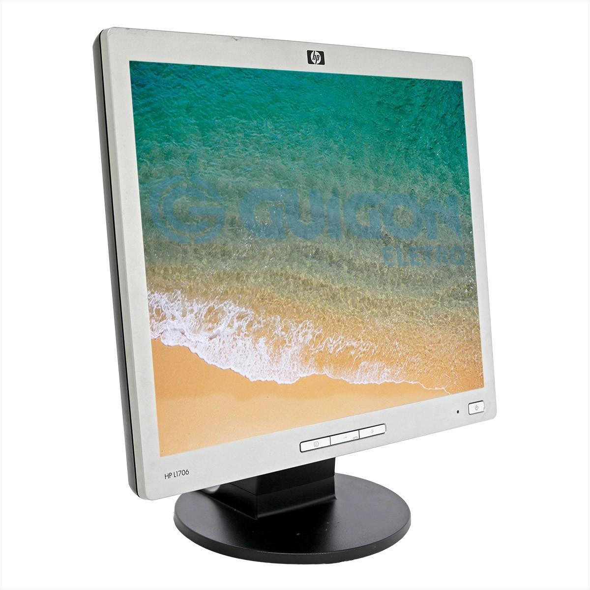 """Monitor HP L1706 17"""" - Usado"""