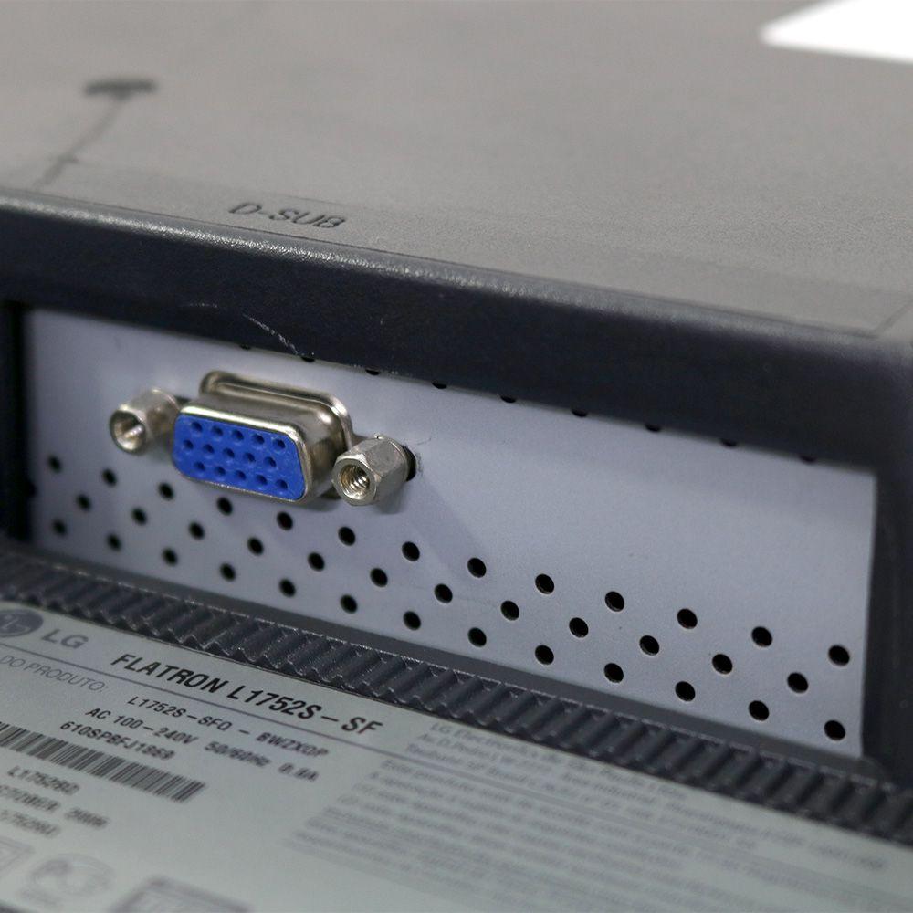 Monitor Lg L1752sq 17 - Usado