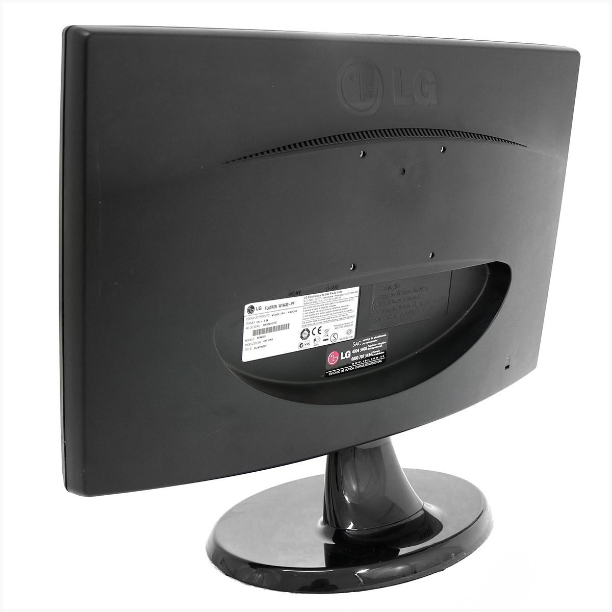 "Monitor LG W1943S 19"" - Usado"