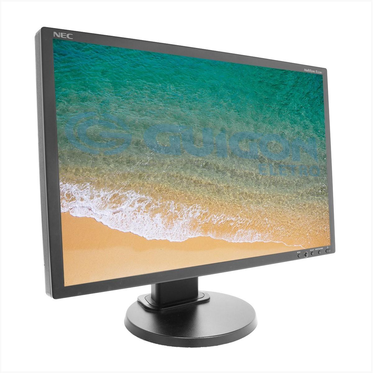 """""""Monitor NEC E222W 22"""" - Usado"""