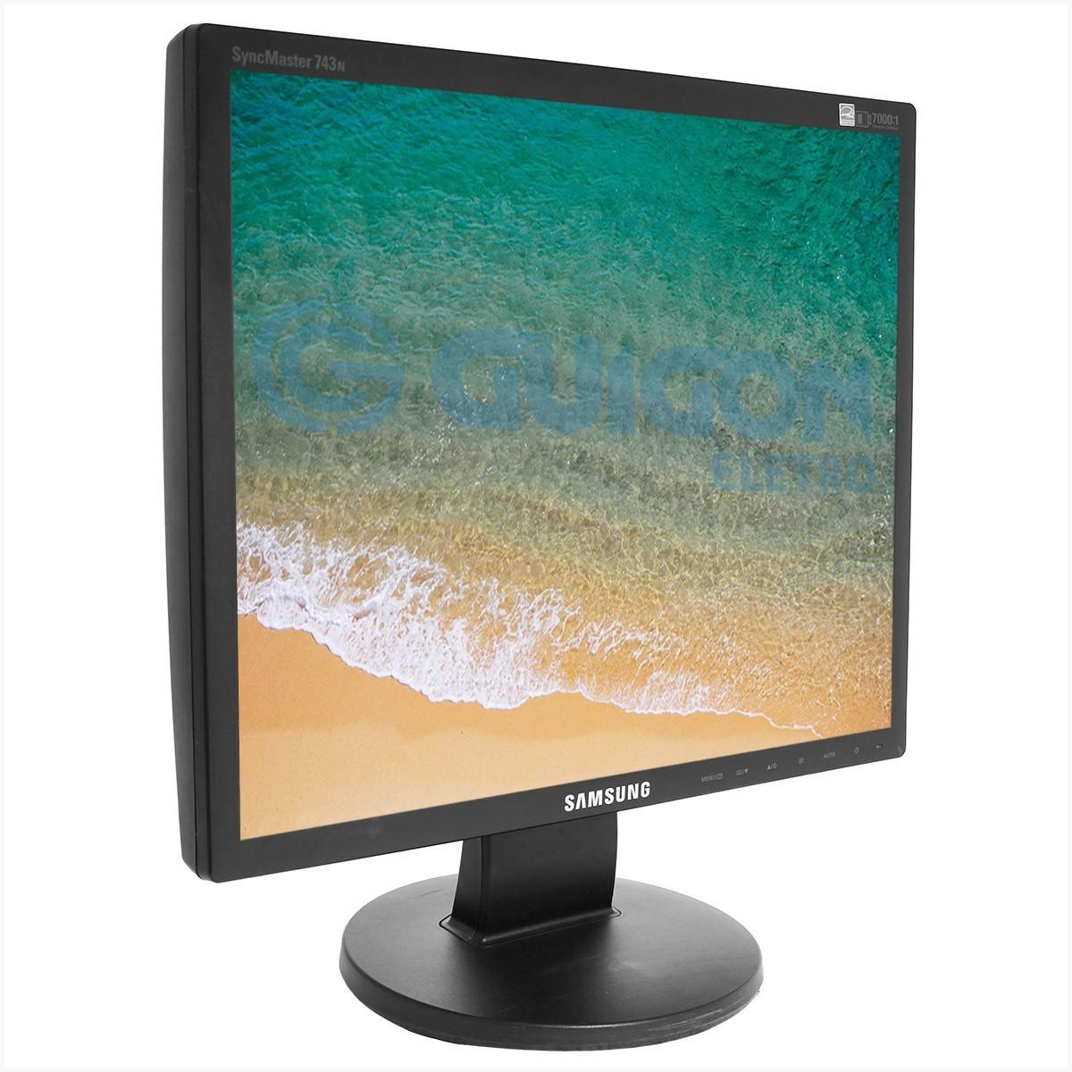 "Monitor Samsung 743N 17"" - Usado"
