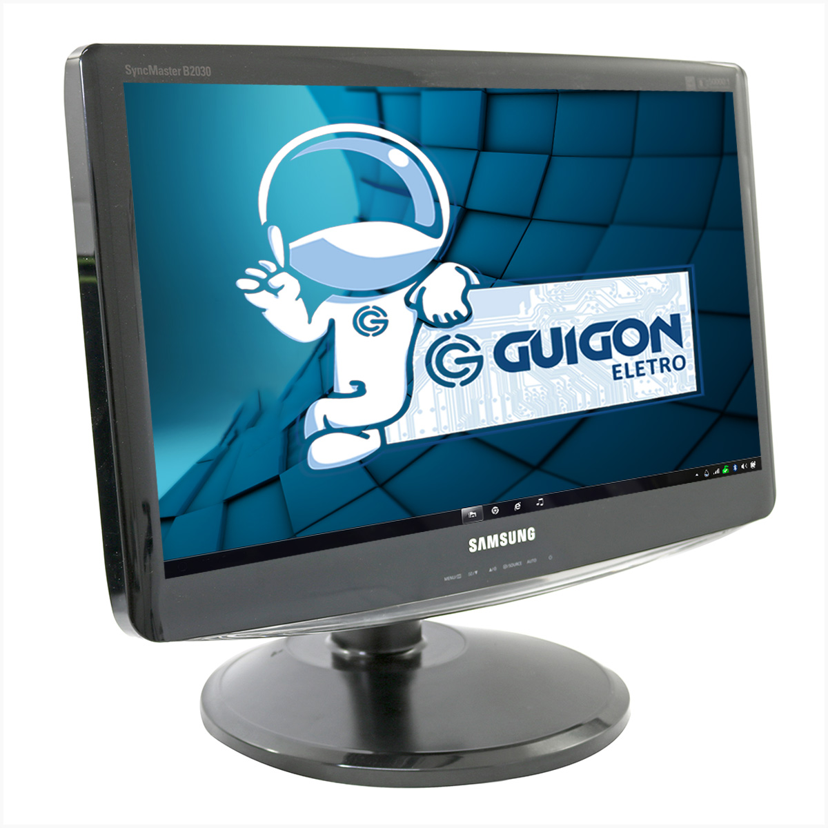 "Monitor samsung b2030n 20"" - usado"