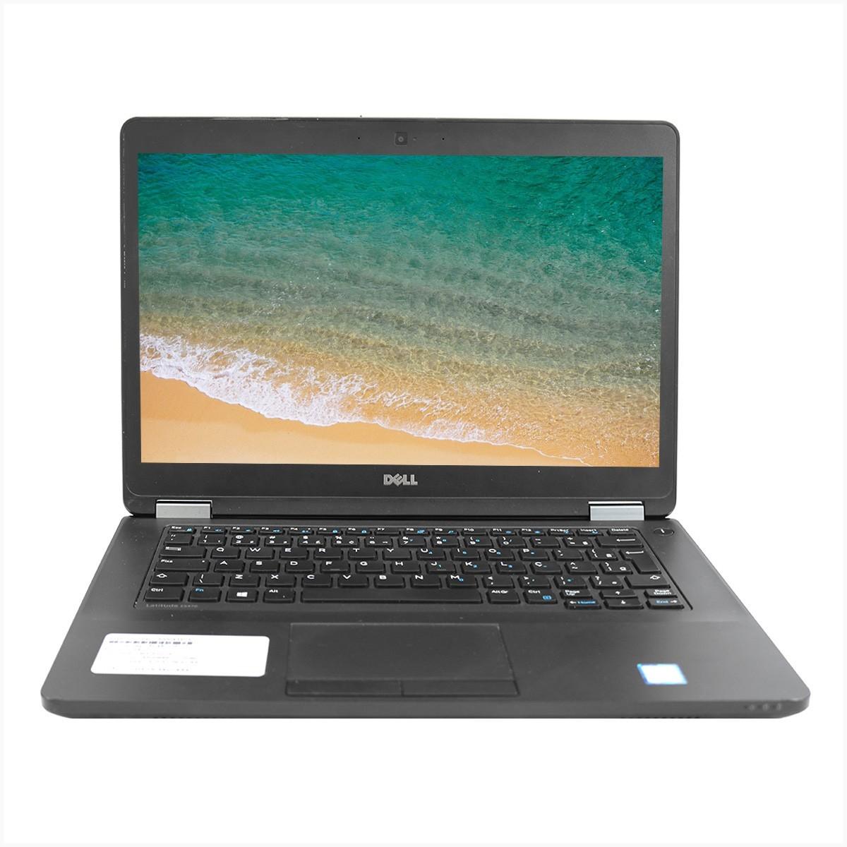 Notebook dell e5470 i5 8gb 240gb ssd m.2 – usado