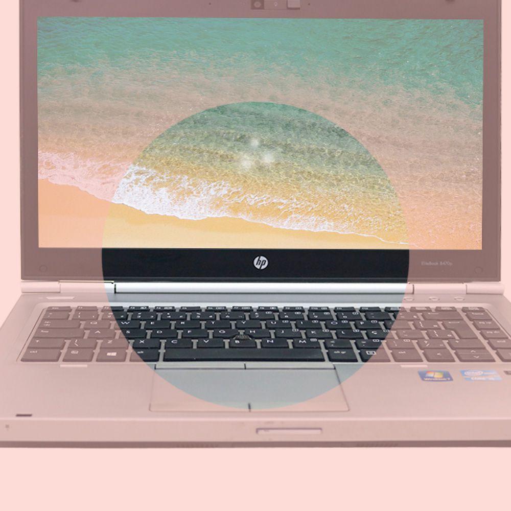 Notebook Elitebook HP 8470P i5 4gb 128gb Ssd - Usado AL