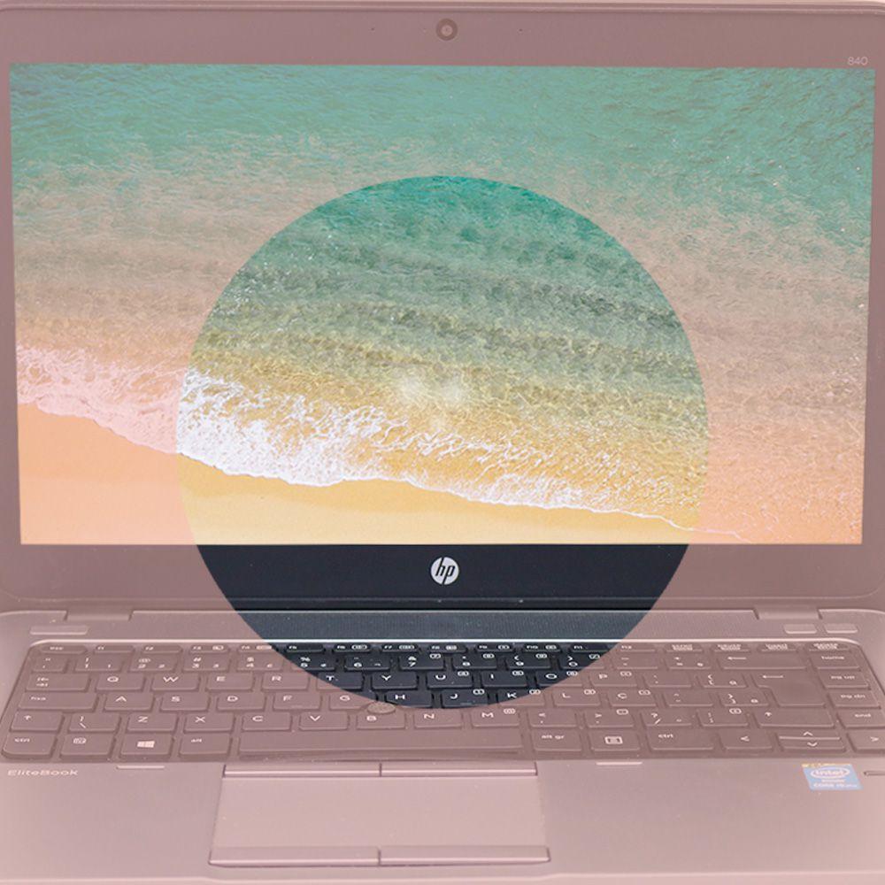 Notebook HP  840G1EliteBook i5 4gb 500gb - Usado