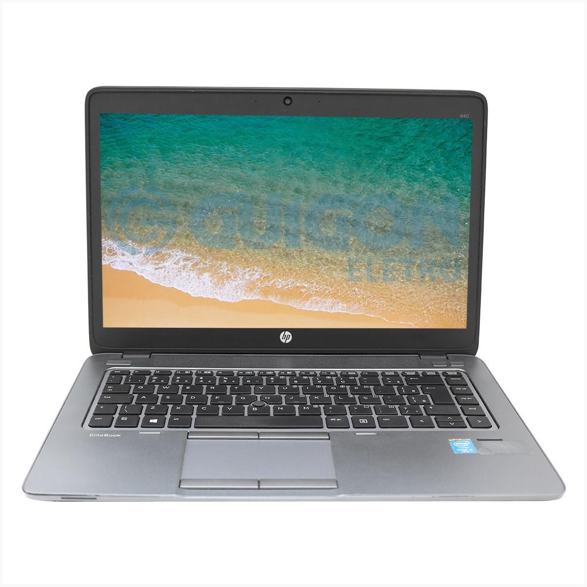 Notebook HP EliteBook 840G2 i5 8gb 240gb Ssd - Usado