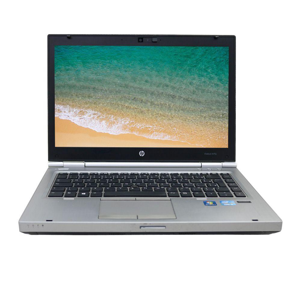 Notebook HP EliteBook 8470P i7 8gb 240gb Ssd - Usado