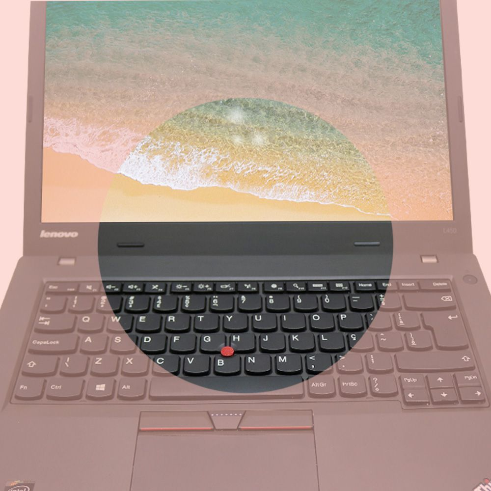Notebook Lenovo Thinkpad L450 i5 4gb 120gb - Usado