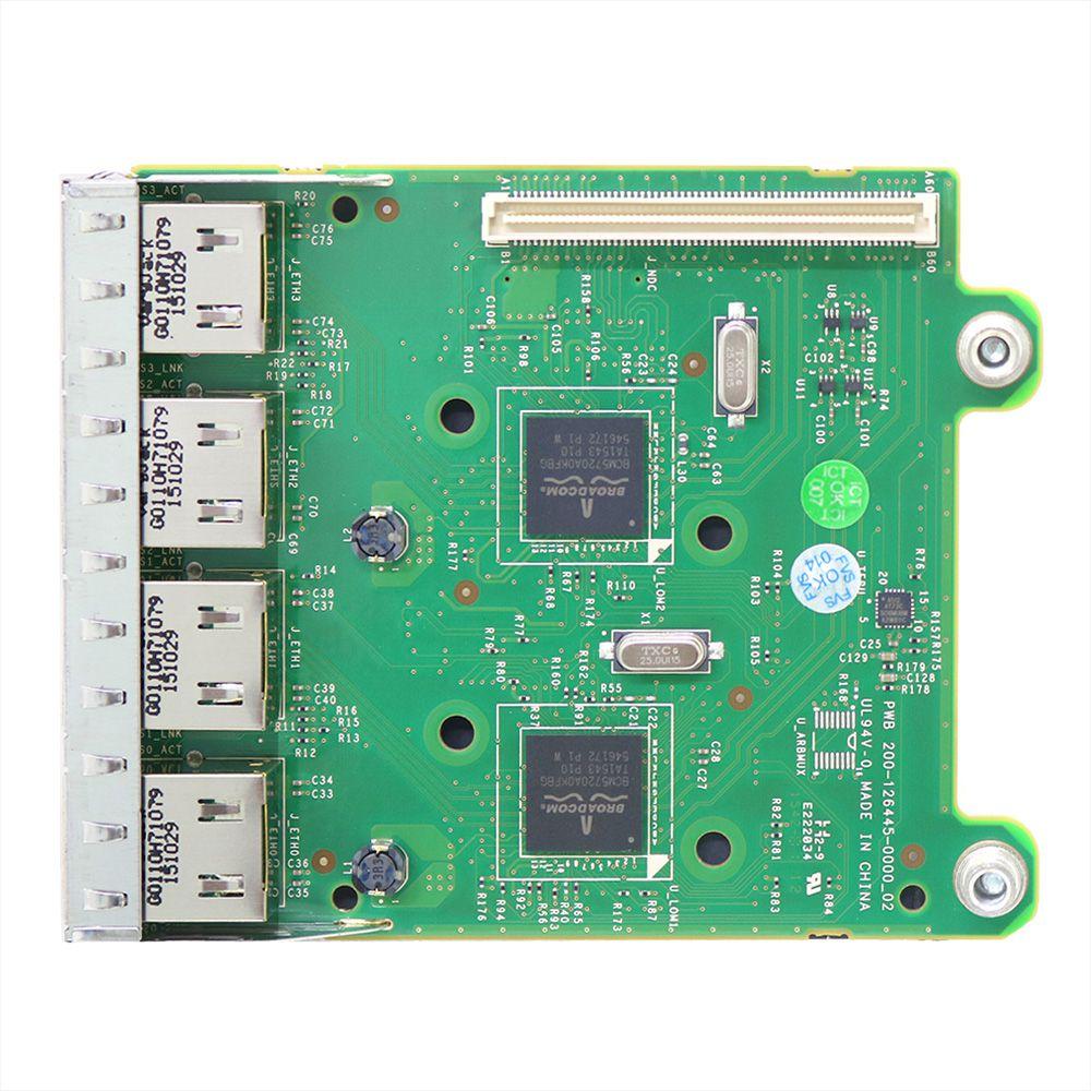 Placa de rede para servidores dell 0fm487 - usado