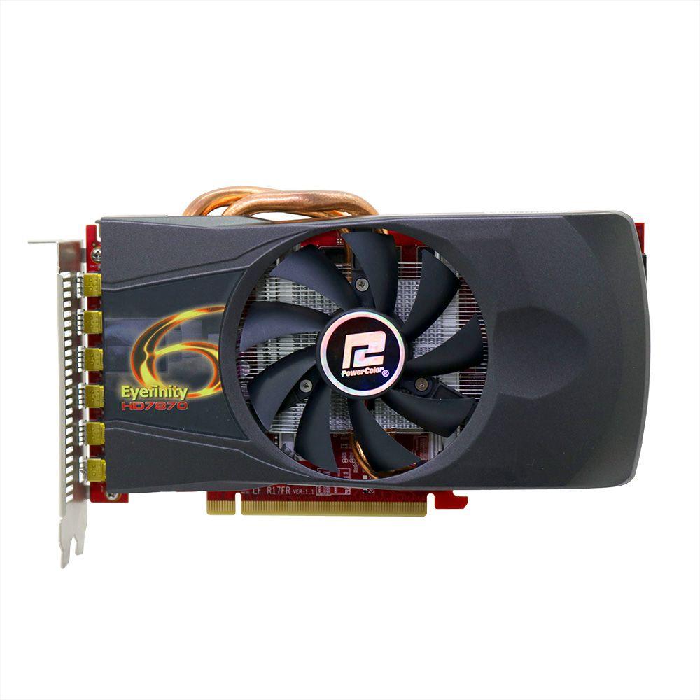 Placa de Vídeo ATI Radeon HD 7870 2GB - Usado