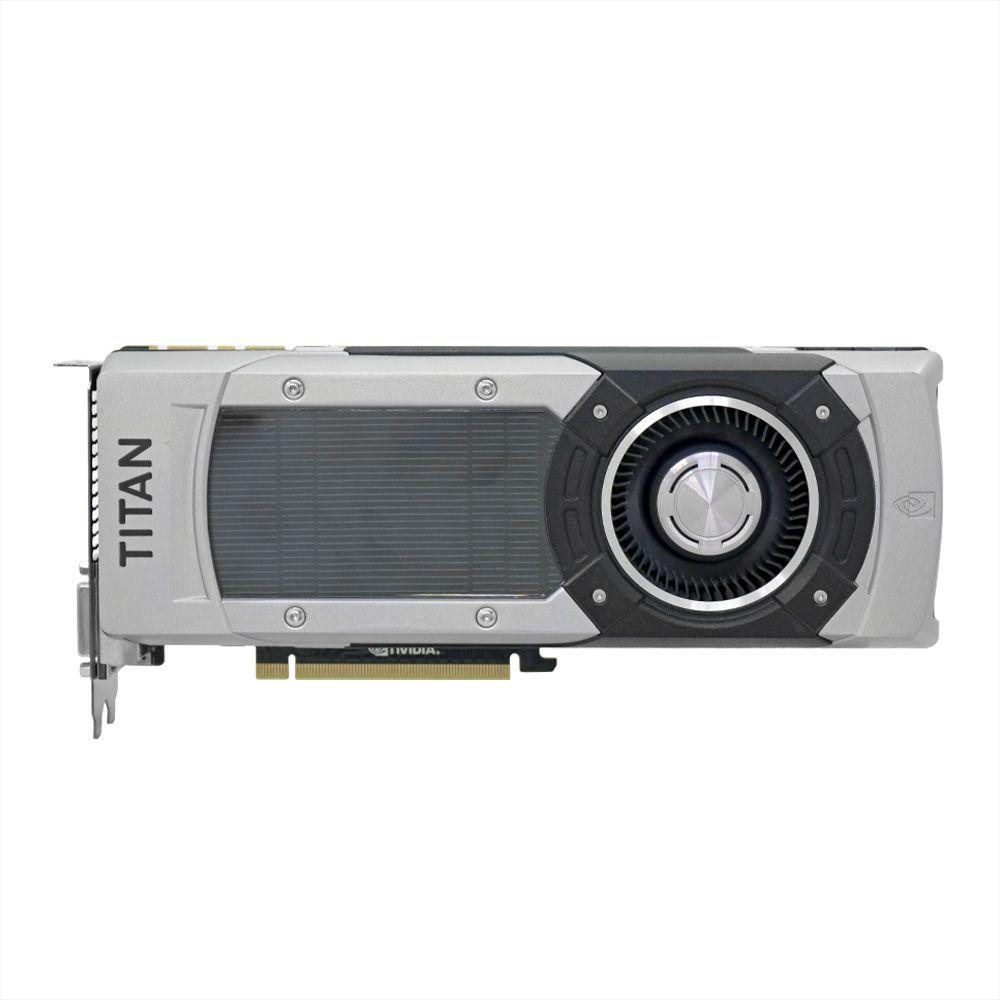 Placa de Vídeo Nvidia GTX Titan Black 6 GB - Usado