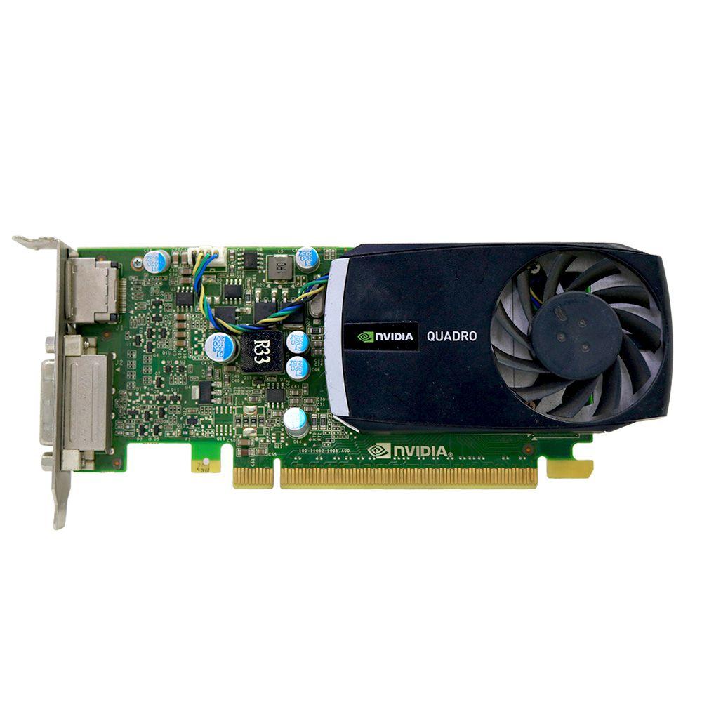 Placa de Vídeo NVidia Quadro 400 Low Profile - Usado