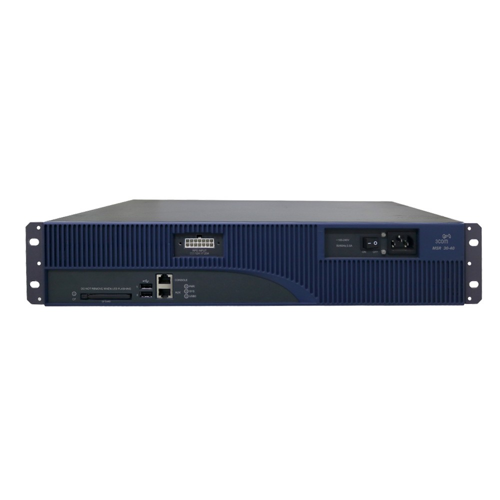 Roteador 3com msr 30-40/235a299 - usado