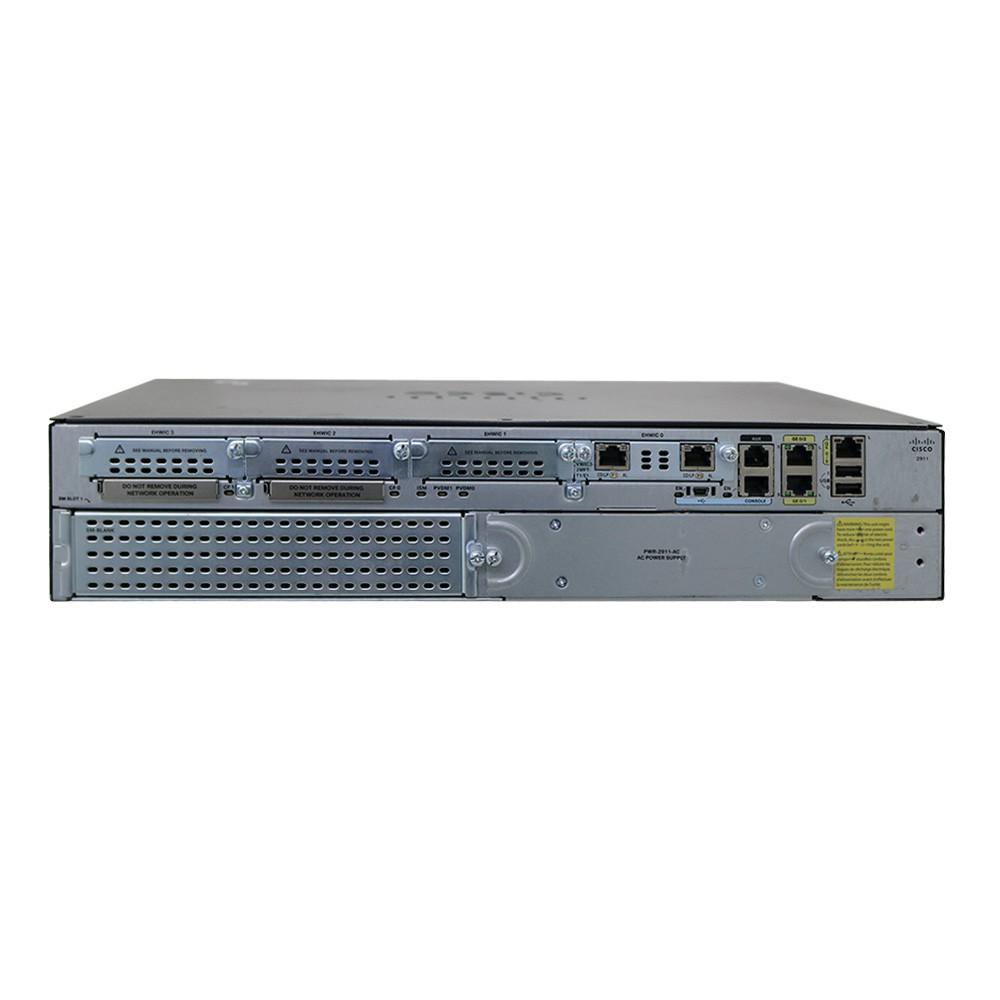 Roteador Cisco 2911/K9 - Usado