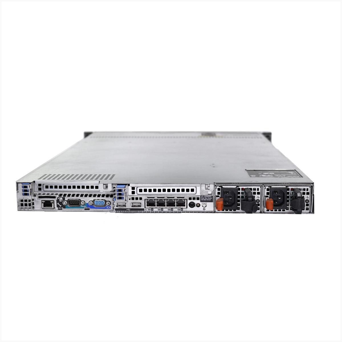 Servidor dell poweredge r610 2x xeon e5645 64gb 2x 1tb sas - usado