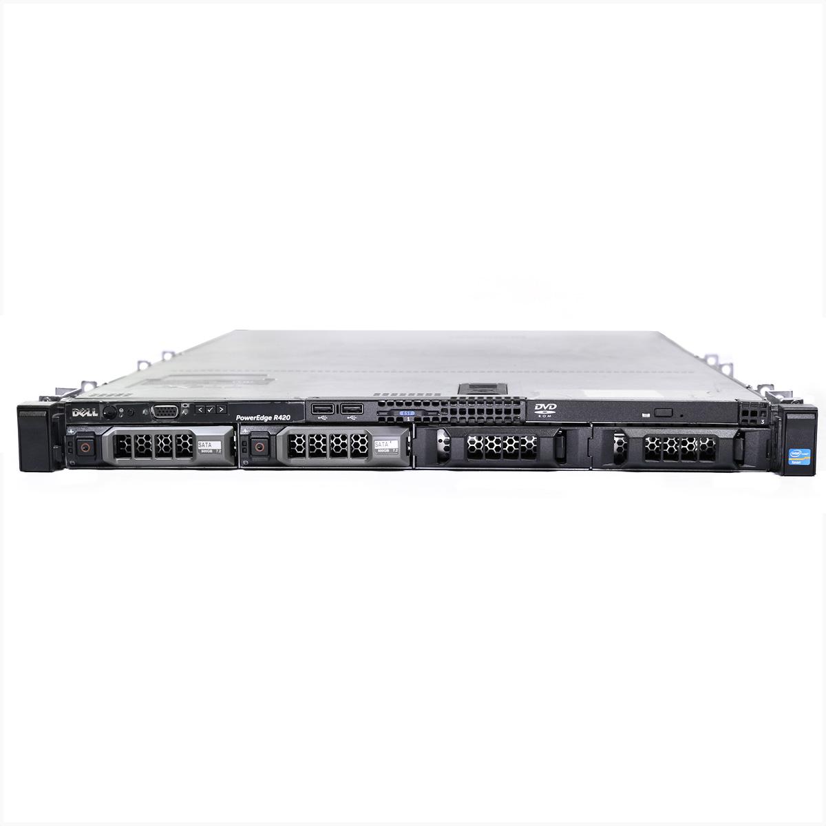 Servidor dell r420 xeon e5-2407 128gb 2x 1tb - usado