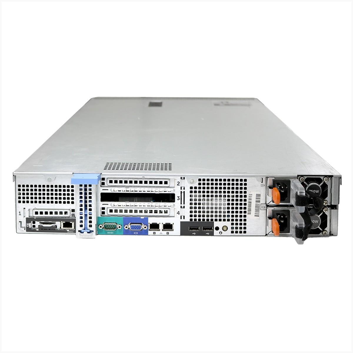 Servidor dell r520 2x xeon e-5420v2 16gb 1tb - usado