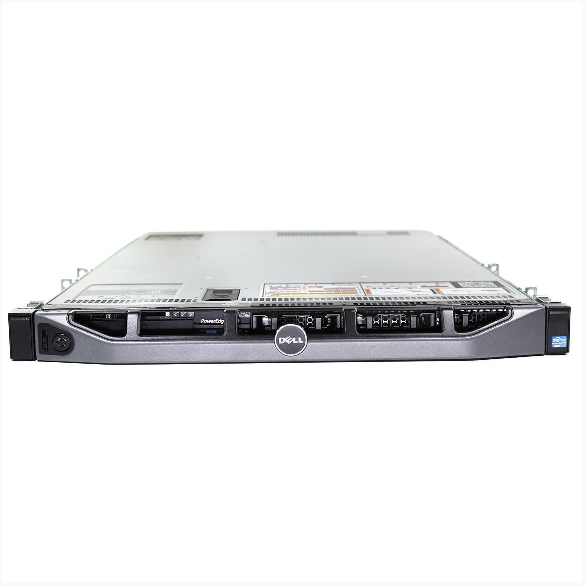 Servidor dell r620 intel xeon e5-2670 128gb 2x 1tb - usado