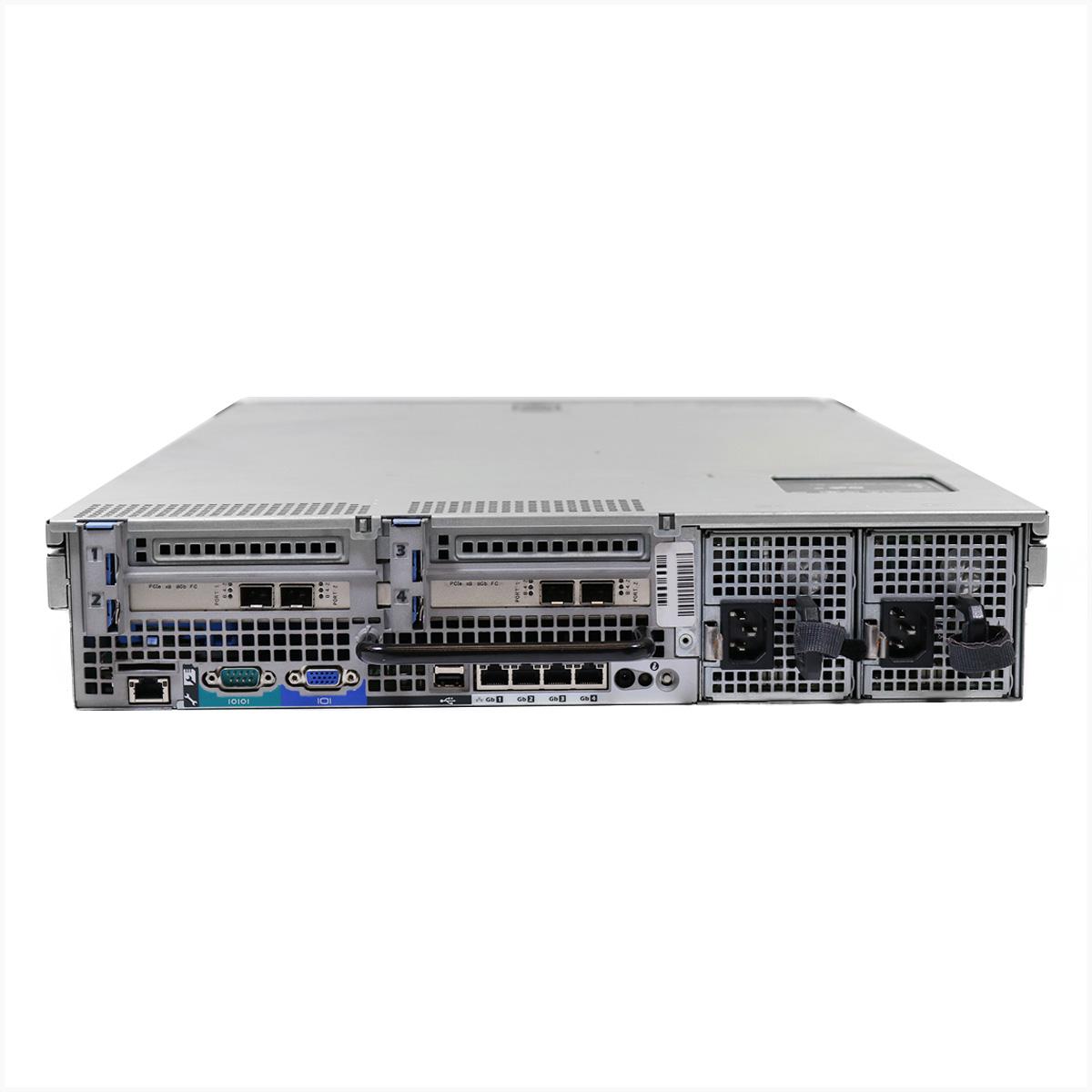 Servidor dell r710 2x xeon e5530 64gb 2x 1tb - usado
