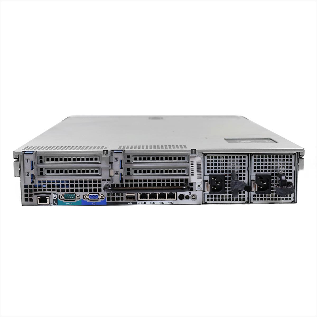 Servidor dell r710 2x xeon x5660 64gb 2x 1tb sas - usado