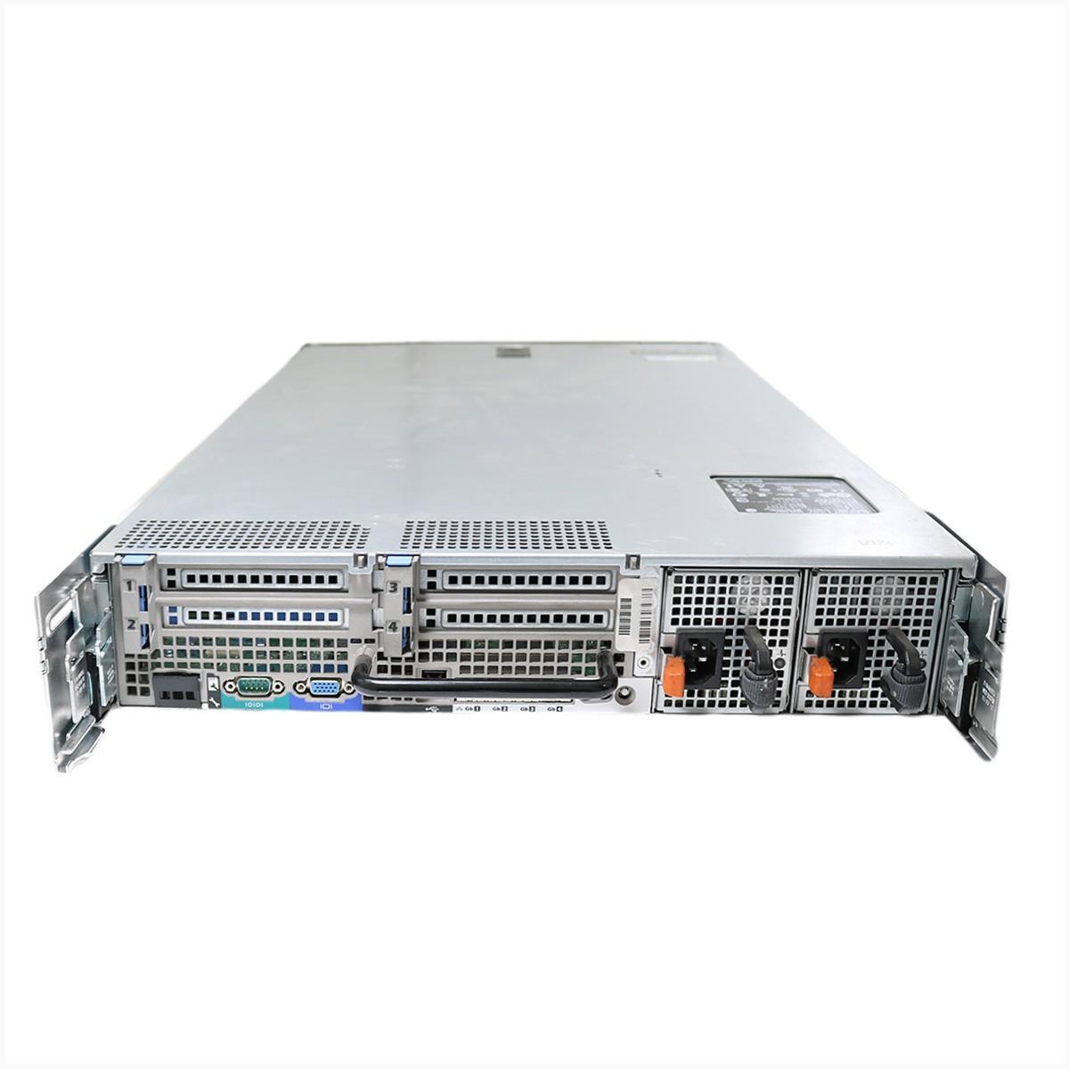 Servidor Dell R710 Xeon 16 GB 600 GB - Usado