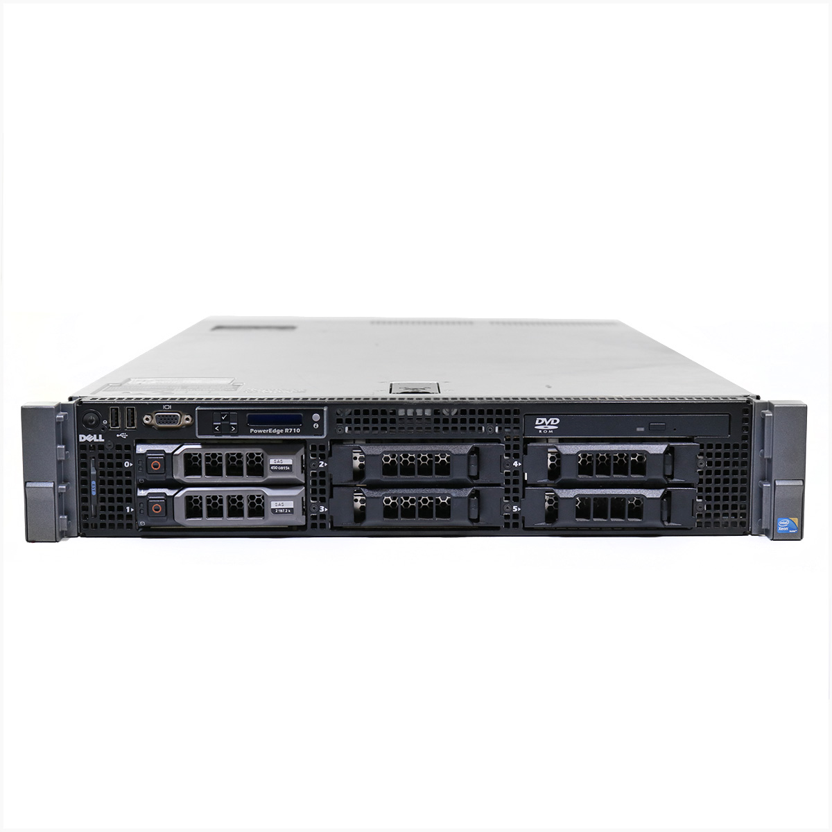 Servidor dell r710 xeon e5620 64gb 2x 1tb - usado
