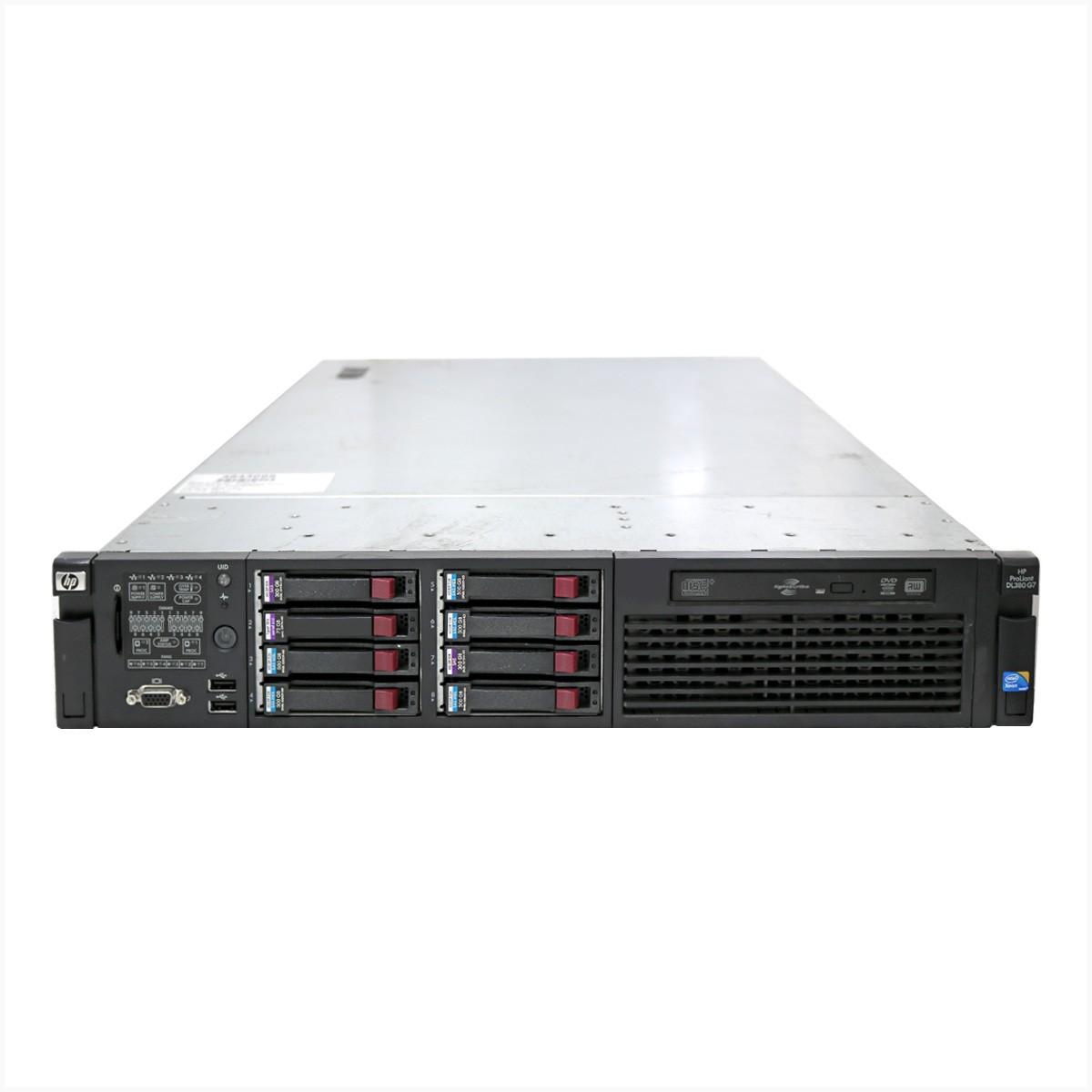 Servidor hp dl380 g7 2x xeon e5649 16gb 1tb - usado