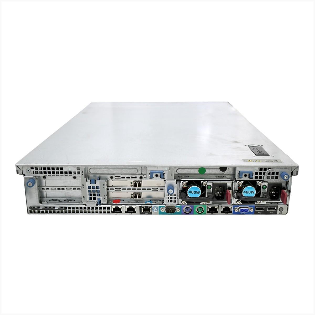 Servidor hp dl380 g7 2x xeon e5649 16gb 2x 1tb - usado