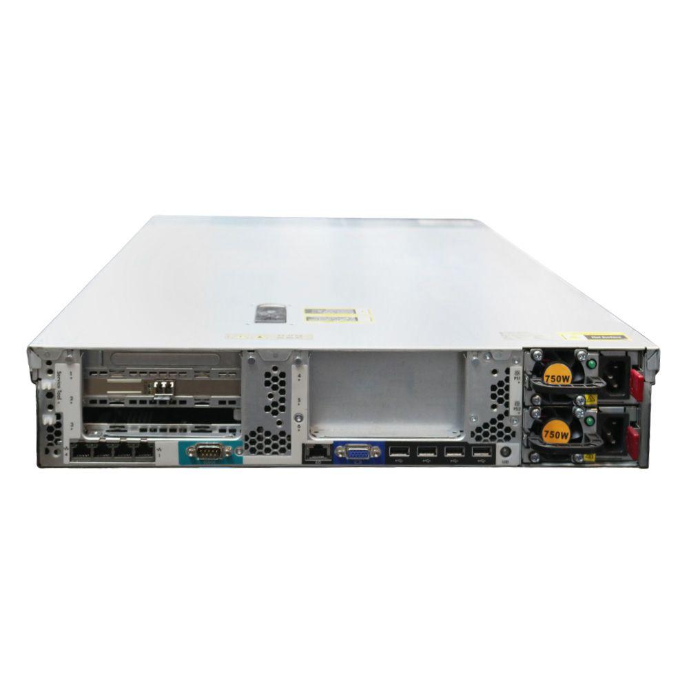 Servidor HP DL380e G8 - 2x Xeon E5 (2690) 128gb 300gb - Usado