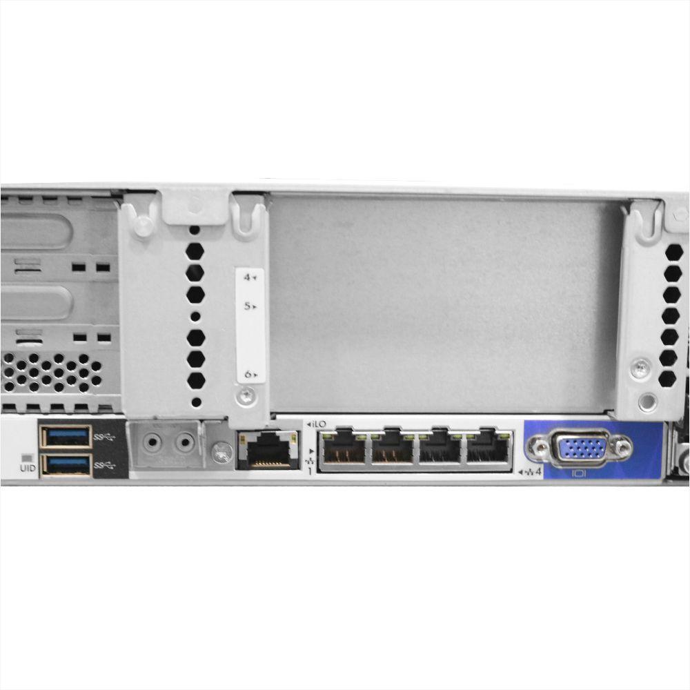Servidor HP DL380 G9 2x Xeon E5-2630 128gb 2x 300gb - Usado