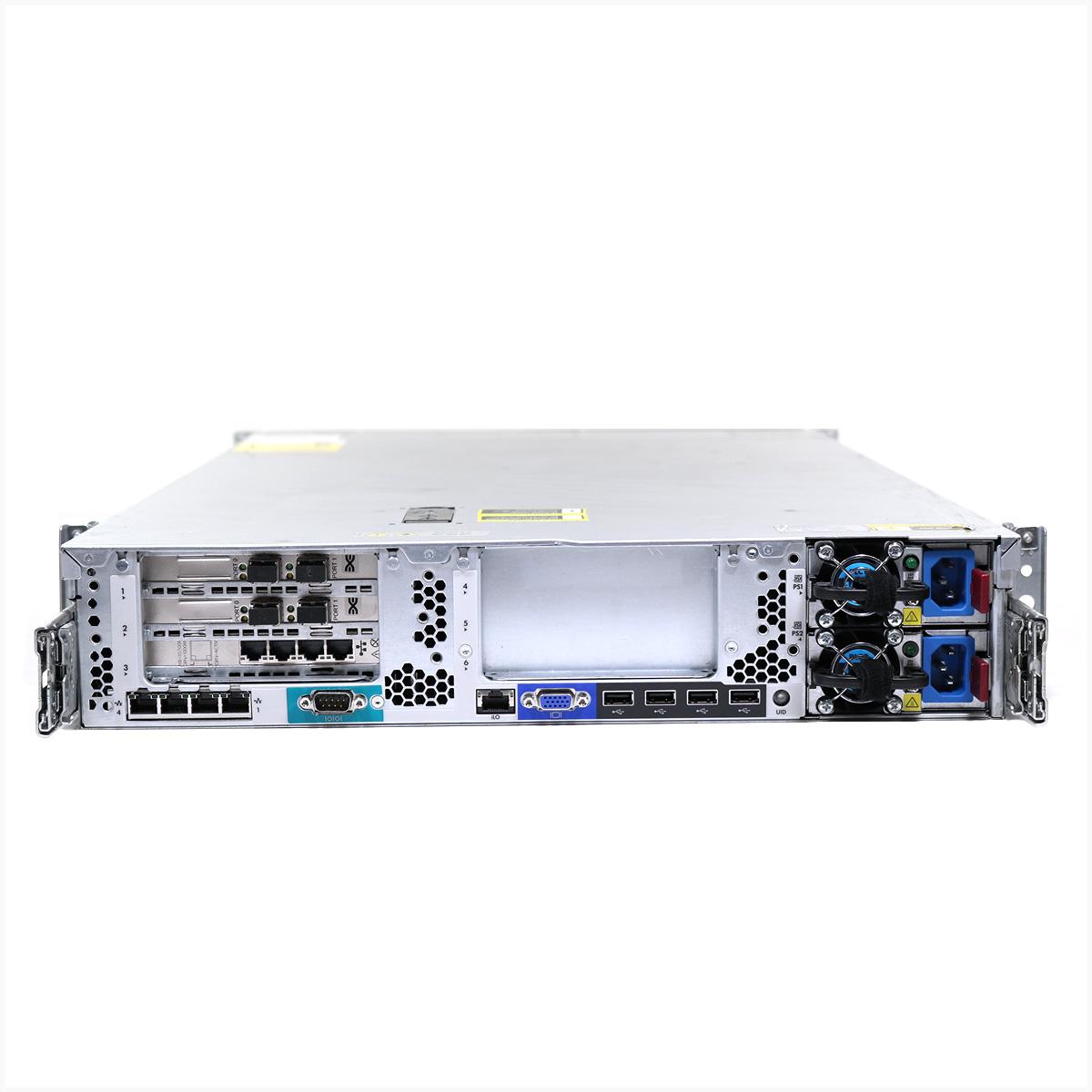 Servidor hp dl380p g8 2x xeon e5-2650 128gb  2x 1tb - usado